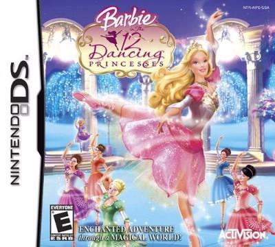 Barbie 12: Dancing Princesses Cover Art