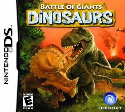 Battle of Giants: Dinosaurs Cover Art