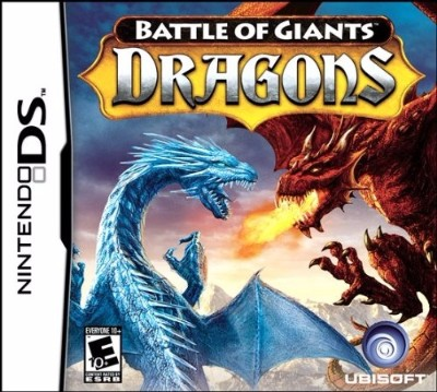 Battle of Giants: Dragons Cover Art