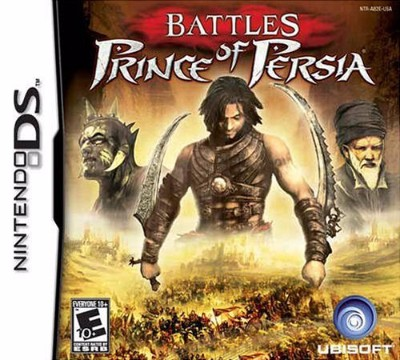 Battles of Prince of Persia Cover Art