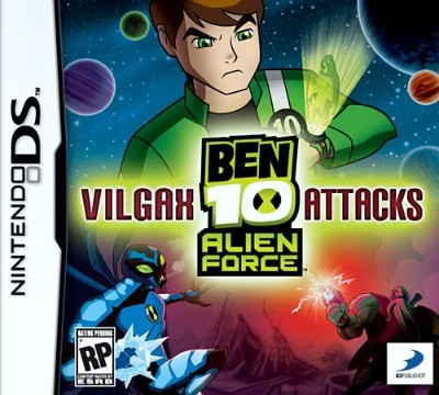 Ben 10: Alien Force: Vilgax Attacks Cover Art