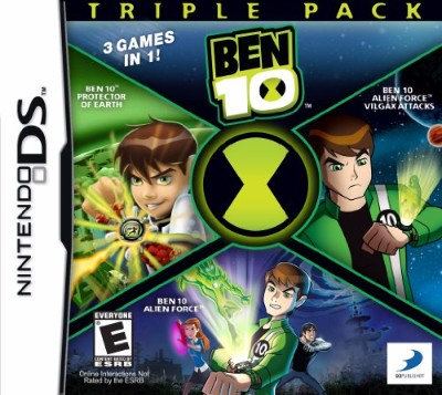 Ben 10: Triple Pack Cover Art