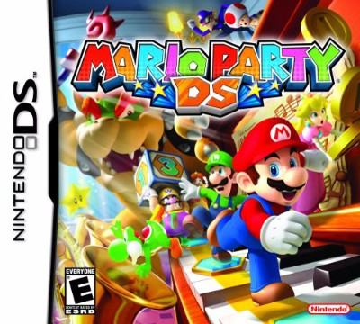 Mario Party DS Cover Art