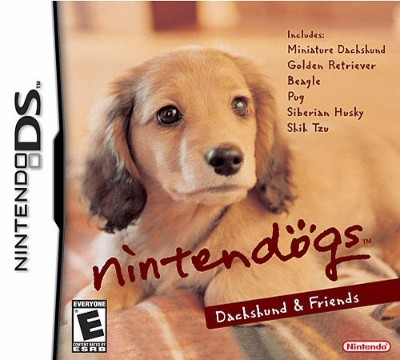 Nintendogs: Dachshund & Friends Cover Art