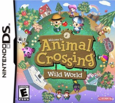 Animal Crossing: Wild World Cover Art