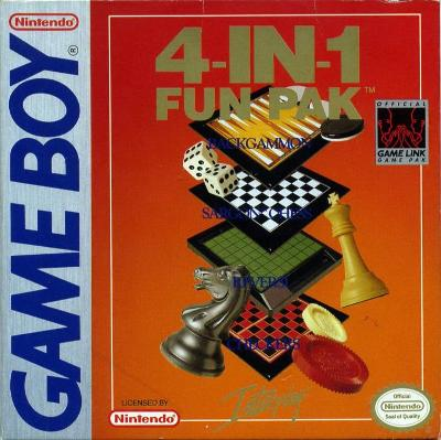 4 in 1 Funpak Cover Art