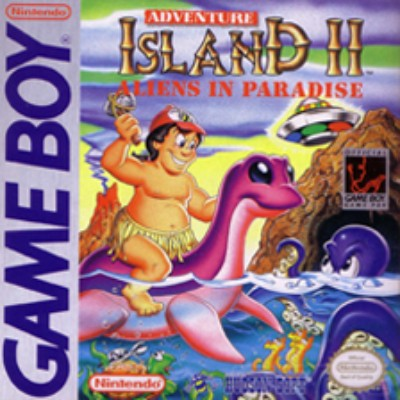 Adventure Island II: Aliens in Paradise Cover Art