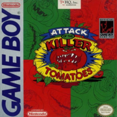 Attack of the Killer Tomatoes Cover Art