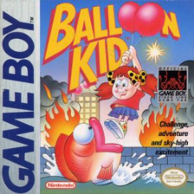 Balloon Kid Cover Art