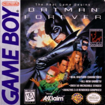 Batman Forever Cover Art