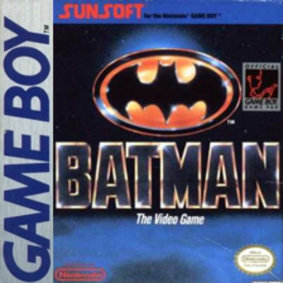 Batman: The Video Game Cover Art