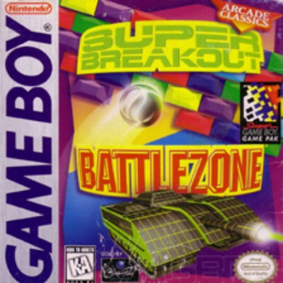 Battlezone & Super Breakout Cover Art