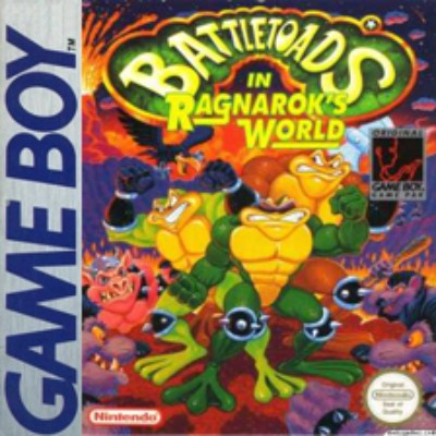 Battletoads in Ragnarok's World Cover Art