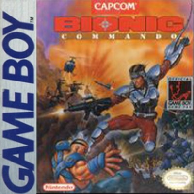 Bionic Commando Cover Art