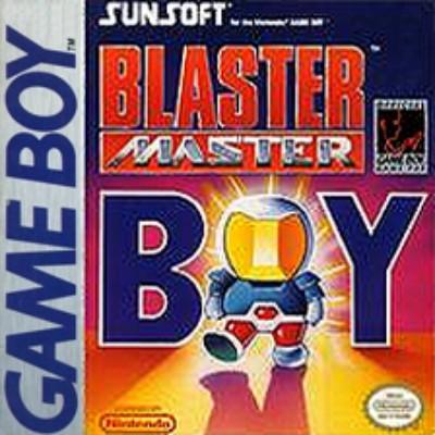 Blaster Master Boy Cover Art