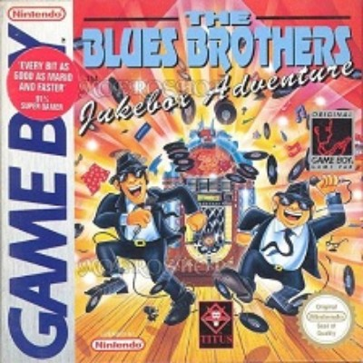 Blues Brothers: Jukebox Adventure [PAL] Cover Art