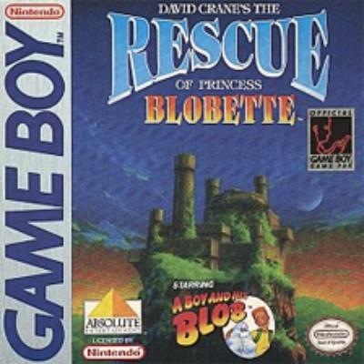 Rescue of Princess Blobette Cover Art