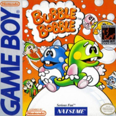 Bubble Bobble Cover Art