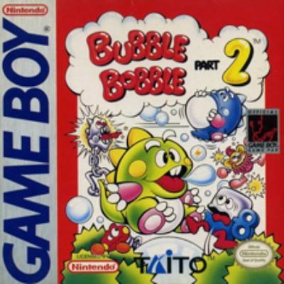 Bubble Bobble Part 2 Cover Art