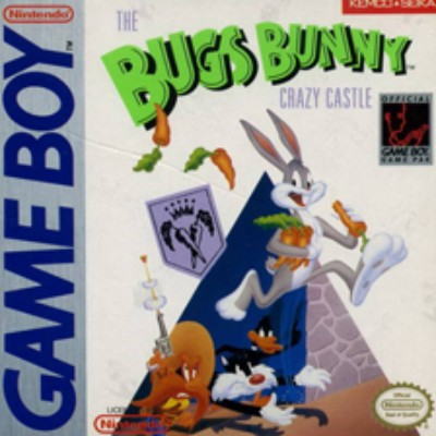 Bugs Bunny Crazy Castle Cover Art