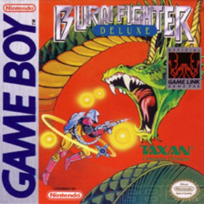 Burai Fighter Deluxe Cover Art