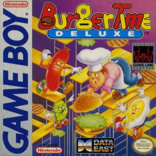 Burgertime Deluxe Cover Art