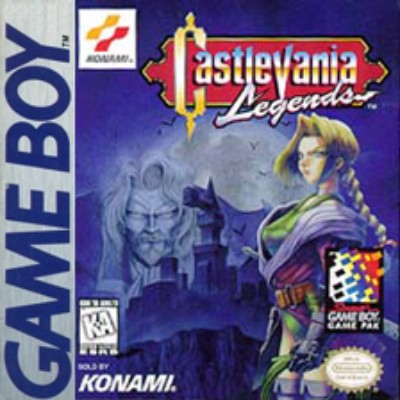 Castlevania Legends Cover Art