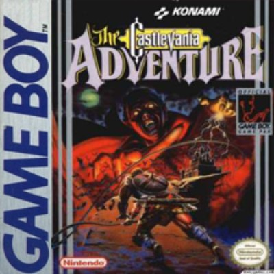 Castlevania Adventure Cover Art