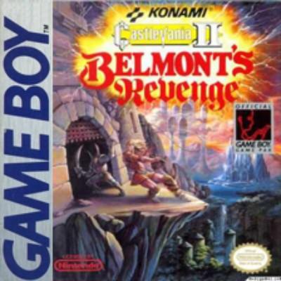 Castlevania II: Belmont's Revenge Cover Art