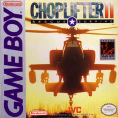 Choplifter II Cover Art