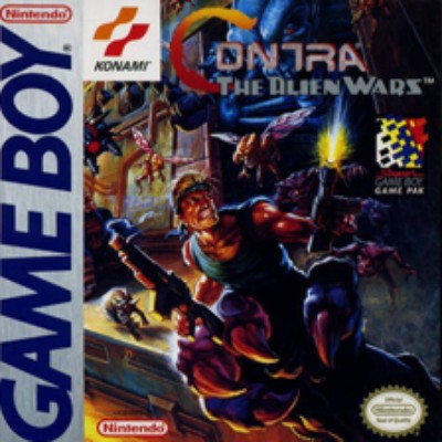 Contra: The Alien Wars Cover Art