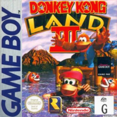 Donkey Kong Land III Cover Art