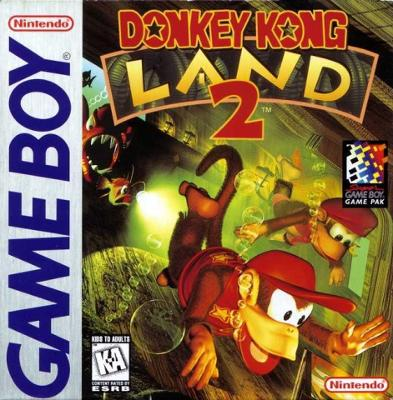 Donkey Kong Land 2 Cover Art