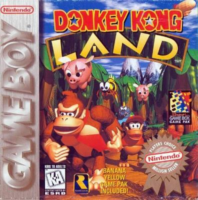Donkey Kong Land [Player's Choice] Cover Art