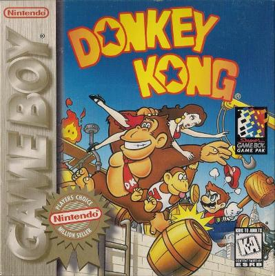 Donkey Kong [Player's Choice] Cover Art
