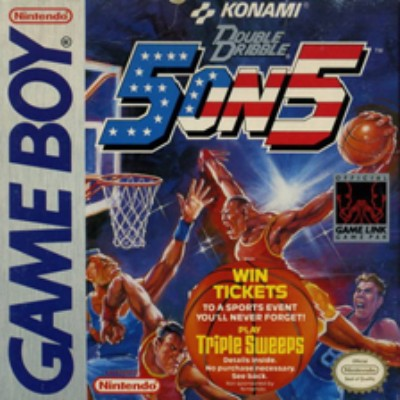 Double Dribble: 5 on 5 Cover Art