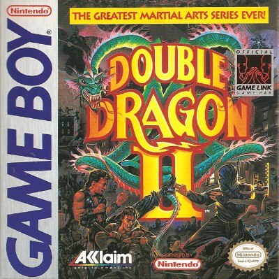 Double Dragon II Cover Art