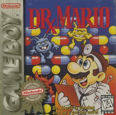 Dr. Mario [Player's Choice] Cover Art