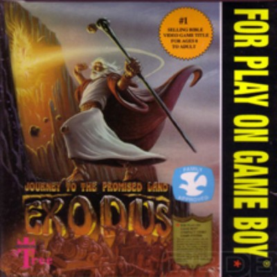 Exodus: Journey to the Promise Land Cover Art