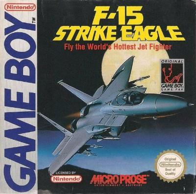 F-15 Strike Eagle Cover Art