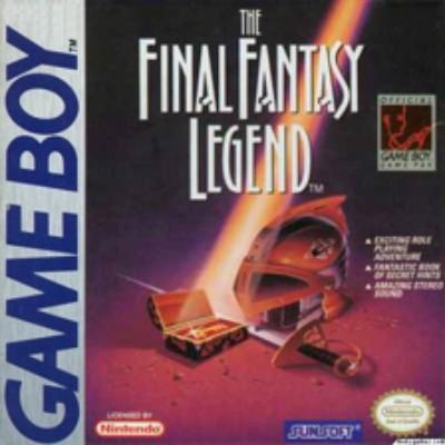 Final Fantasy Legend Cover Art