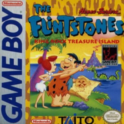 Flintstones: King Rock Treasure Island Cover Art
