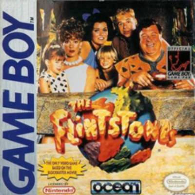 Flintstones: The Movie Cover Art