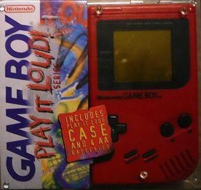 Game Boy: Play it Loud! [Red] Cover Art