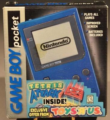 Game Boy Pocket [Blue] [Tetris Attack Bundle] Value / Price | Game Boy