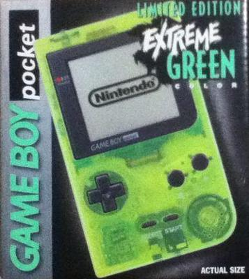 Game Boy Pocket [Extreme Green] [Limited Edition] Value / Price