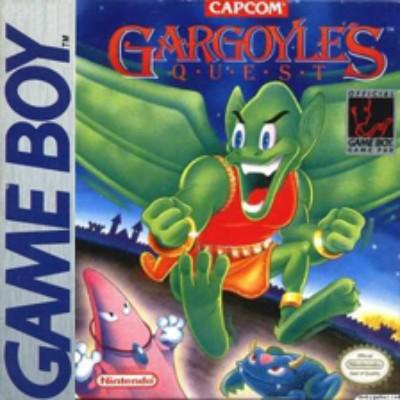 Gargoyle's Quest Cover Art