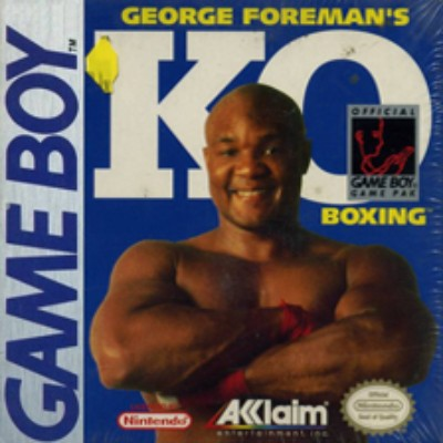 George Foreman's KO Boxing Cover Art