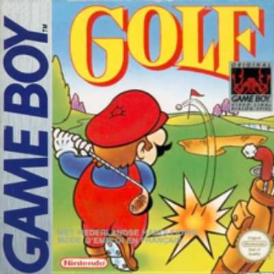 Golf Cover Art
