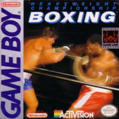 Heavyweight Championship Boxing Cover Art